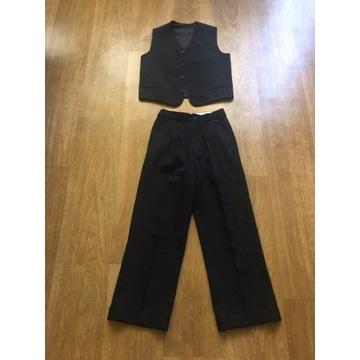 Spodnie + kamizelka eleganckie dla chłopca