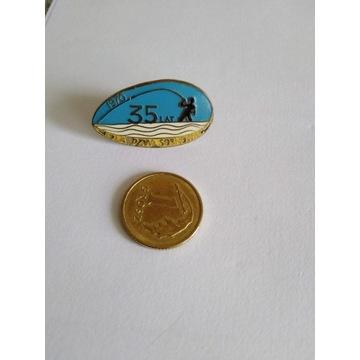 Odznaka PZW Sosnowiec 35 Lat