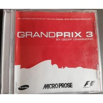 Grand Prix 3 by Geoff Crammond (2000) PC Unikat