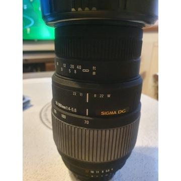 Sigma 70-300 mm f/4-5.6  DG Macro NIKON F bdb