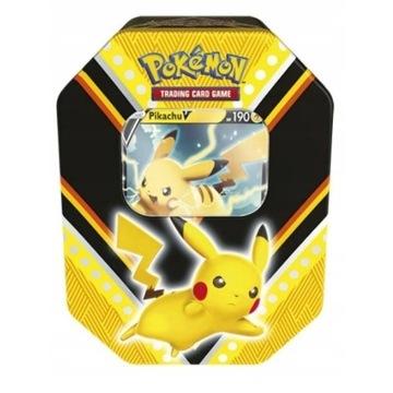 PIKACHU V Puszka Pokemon TCG