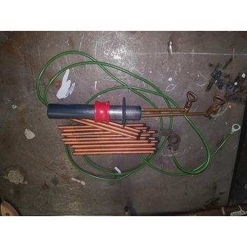 Zgrzewarka akumulatorowa elektroda węglowa spoter