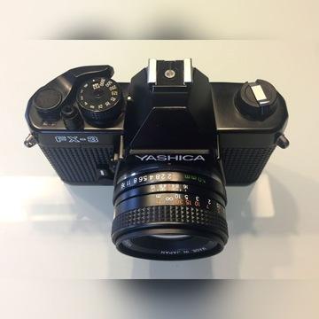 YASHICA FX-3 + 50mm f2 po przegl. GOTOWA do pracy!