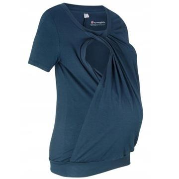 Bellybutton bluzka ciążowa/do karmienia XL granat