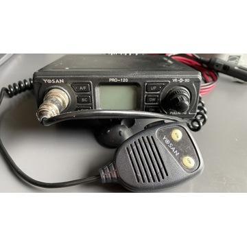 CB radio Yosan Pro-120 z anteną