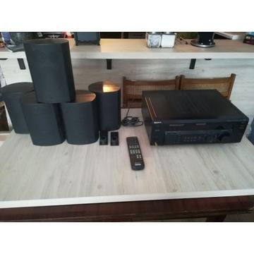 Zestaw HI-FI Audio SONY STR-DE365 + JAMO 5.1