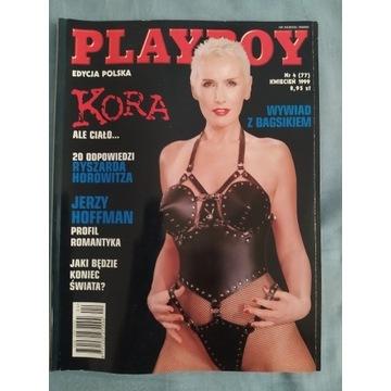 Playboy kwiecień 1999 KORA