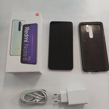 Xiaomi Redmi note 8 pro 6/64 stan idealny Gwarancj