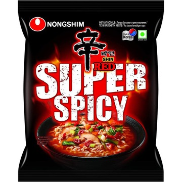 Nongshim Super Spicy hot red Shin Ramyun Cup zupka
