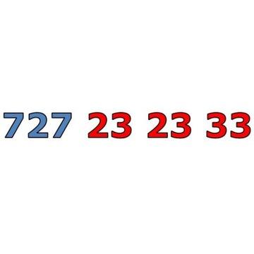 727 23 23 33 ŁATWY ZŁOTY NUMER STARTER