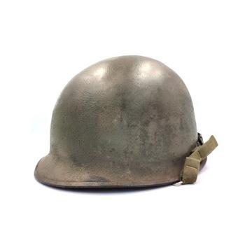 Hełm amerykański US M1 II wojna Schlueter 1944-45