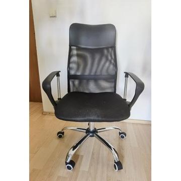 Fotel Vecotti Xenos biurowy wentylowany  czarny