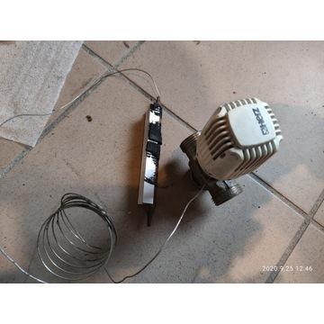 zawór trójdrogowy 3/4 z głowicą termostatyczną