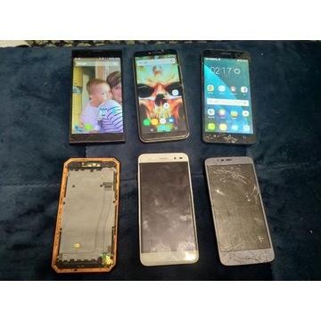 Licytacja 6 różnych smartfonów Okazja Od 60zł A4