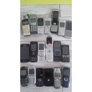 Telefony komórkowe Nokia e52 i inne