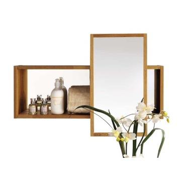 Szafka łazienkowa z dwoma lustrami IKEA MOLGER