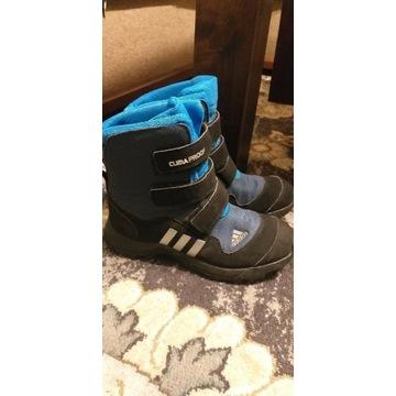 Buty dzieciece zimowe śniegowce Adidas
