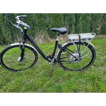 Rower elektryczny miejski Trek Navigator T 400+