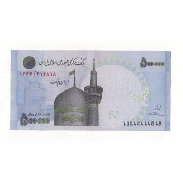 Iran pól miliona