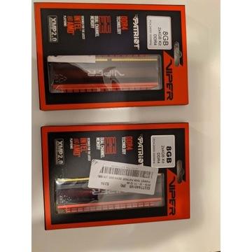 PATRIOT DDR4 16GB=4x4GB Viper 4 3000MHz CL16 XMP2