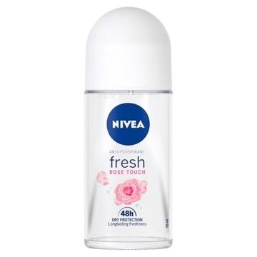 NIVEA Fresh rose touch 50 ml kulka anti-perspirant