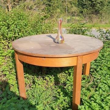 Stół drewniany rozkładany- antyk