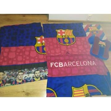 FC BARCELONA zestaw dla fana pościel poduszka koc