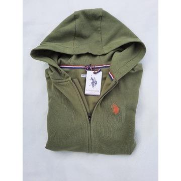 Bluza chłopięca U.S.POLO ASSN Zip Hoodie 14-15 lat