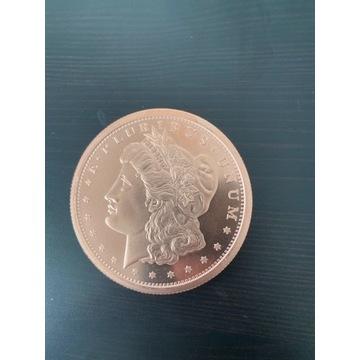 5 ounces Copper moneta USA