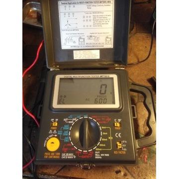 Miernik parametrów sieci elektrycznych MFT 5010