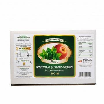 Koncentrat owocowy jabłko-mięta 300 ml - Krosno