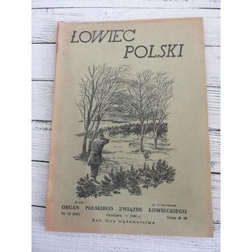 Łowiec Polski 1948 r. Nr.12 Grudzień