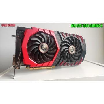 MSI GTX 1060 GAMING X 6GB