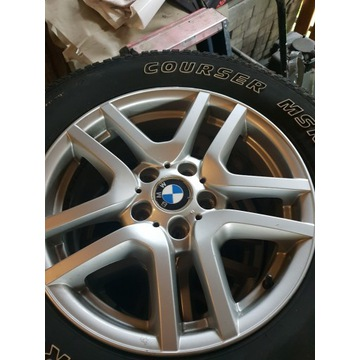 "BMW felgi 17""+ opony zimowe"