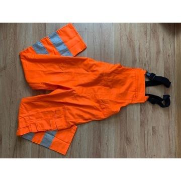 Spodnie robocze odblaski r 48 (M)