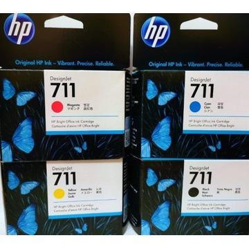 4 x tusz HP 711 do T120 T520 Designjet