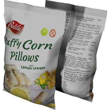 Poduszki kukurydziane z kremem cytrynowym 24 x70g