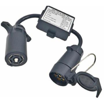 Przejściówka adapter gniazdo haka USA na EU 7 PIN