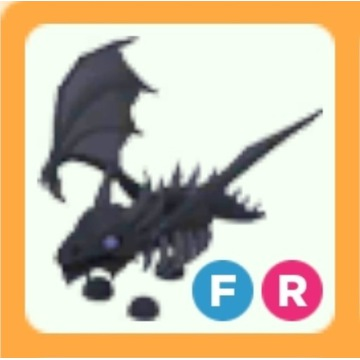 Roblox Adopt Me Shadow Dragon FR