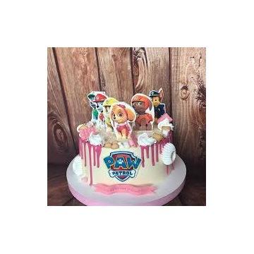 Cukrowe Pikery na tort Psi Patrol