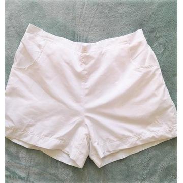 Białe szorty krótkie spodenki sportowe Adidas 36 s