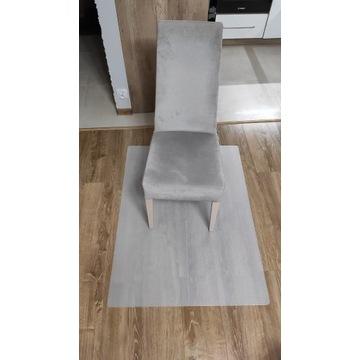 Składana mata plastikowa pod krzesło obrotowe