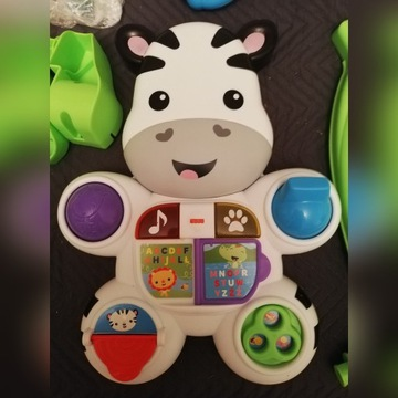 Pchacz zebra fisher price