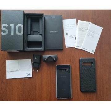 Samsung Galaxy S10 czarny, 128GB, stan idealny !!!