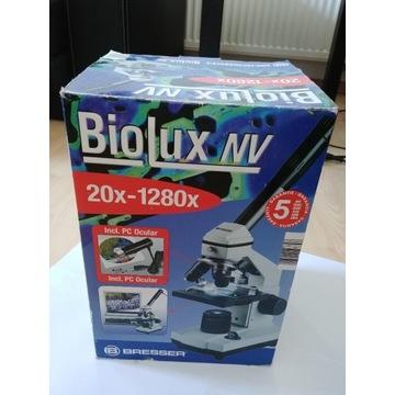 Mikroskop Biolux NV 20x-1280x Bresser kamera USB