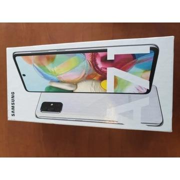 Nowy Samsung A71 Silver