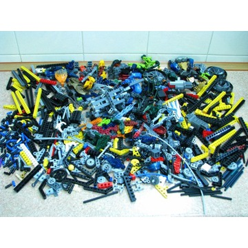 LEGO TECHNIC MIX klocków 1,9 kg