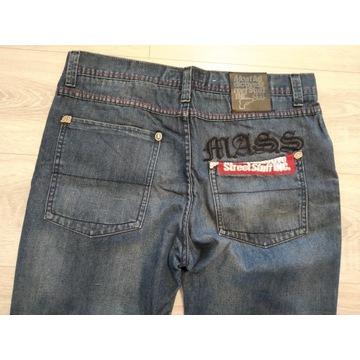 Spodnie jeans mass denim