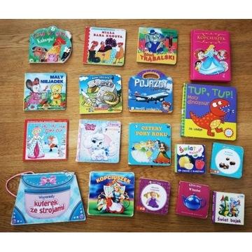 Książeczki dla dzieci 1-3 lata- bajki - 18 sztuk