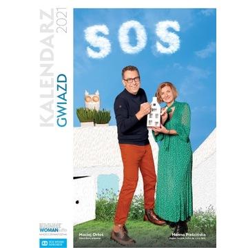 Kalendarz gwiazd 2021 na rzecz SOS Wioski Dziecięc